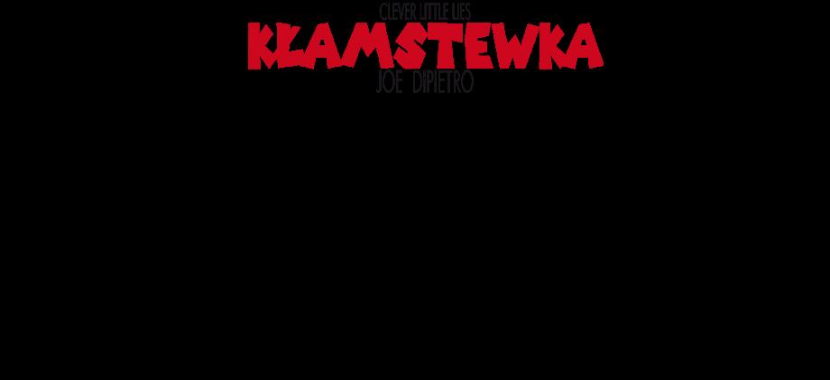 Kłamstewka- plakat ze spektaklu z obsadą