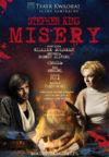 Misery - plakat ze spektaklu z obsadą