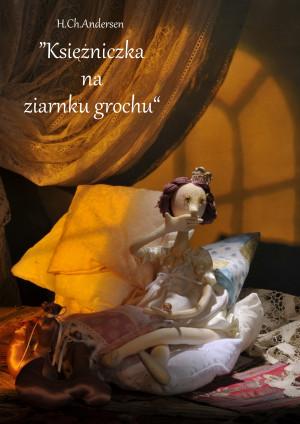 Księżniczka na ziarnku grochu - plakat