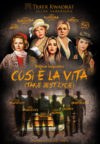 Così è la vita (Takie jest życie) - plakat ze spektaklu wraz z obsadą